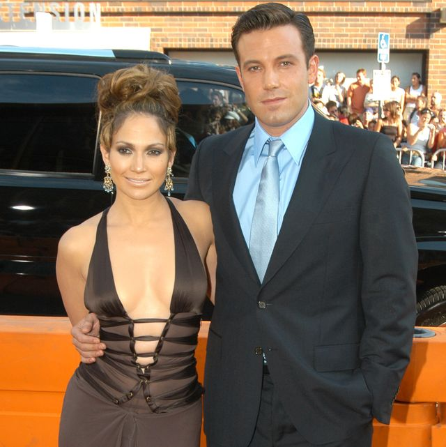 ben affleck and jennifer lopez during gigli california premiere at mann national in westwood, california, united states photo by jeff kravitzfilmmagic