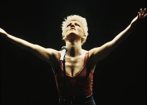 Roxette Singer Marie Fredriksson in Concert