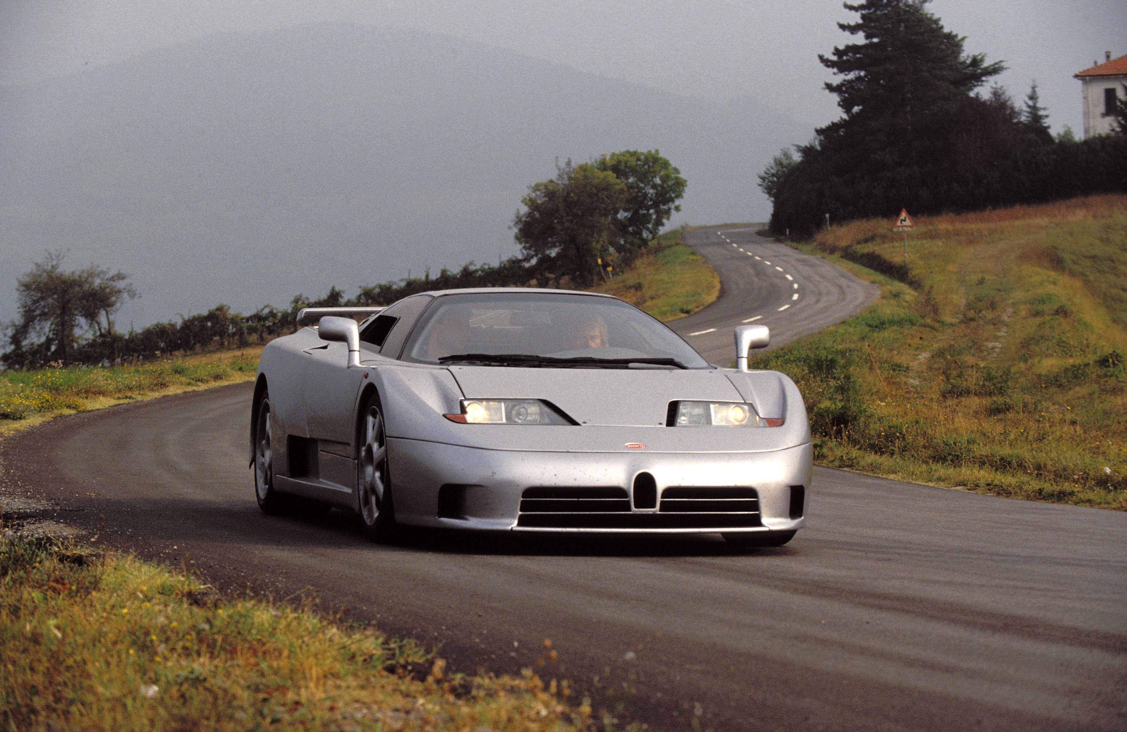Bugatti Might Reveal an EB110 Tribute at Pebble Beach