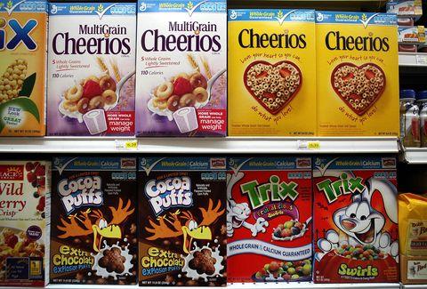 Breakfast cereal, Vegetarian food, Snack, Convenience food, Food, Meal, Breakfast, Cuisine, Cereal, Advertising,