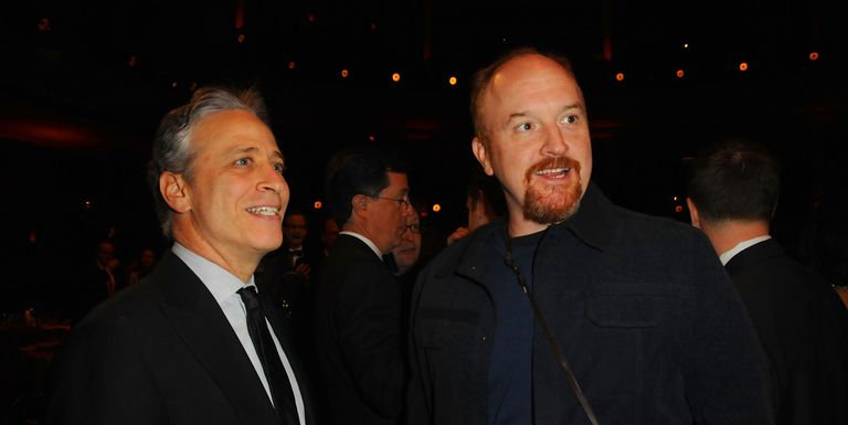 Jon Stewart Reacts To Sexual Misconduct Allegations Against Friend Louis C.K.: 'You Feel Anger'
