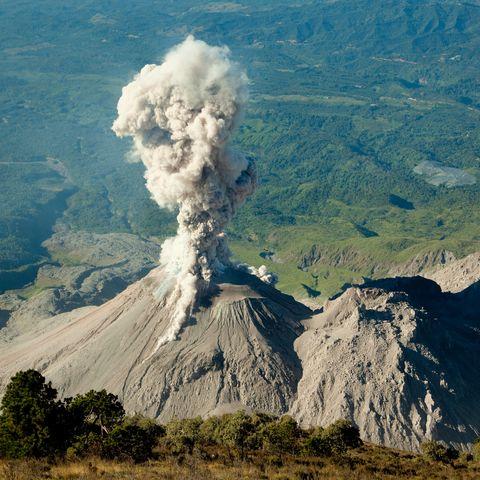 volcano eruption