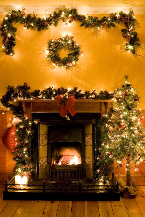 Au sommet des arbres de Noël