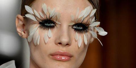 make-up looks couture week parijs