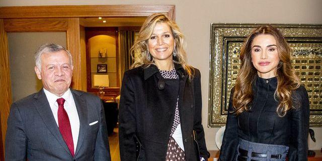 Koningin Máxima in Jordanië dag 2 in Giambattista Vali