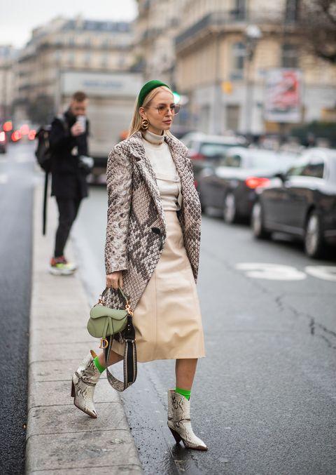 Clothing, Street fashion, Photograph, White, Fashion, Snapshot, Coat, Outerwear, Footwear, Shoe,