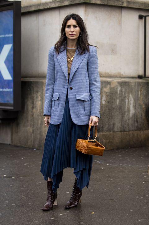 Clothing, Street fashion, Blue, Fashion, Cobalt blue, Denim, Coat, Electric blue, Snapshot, Jeans,