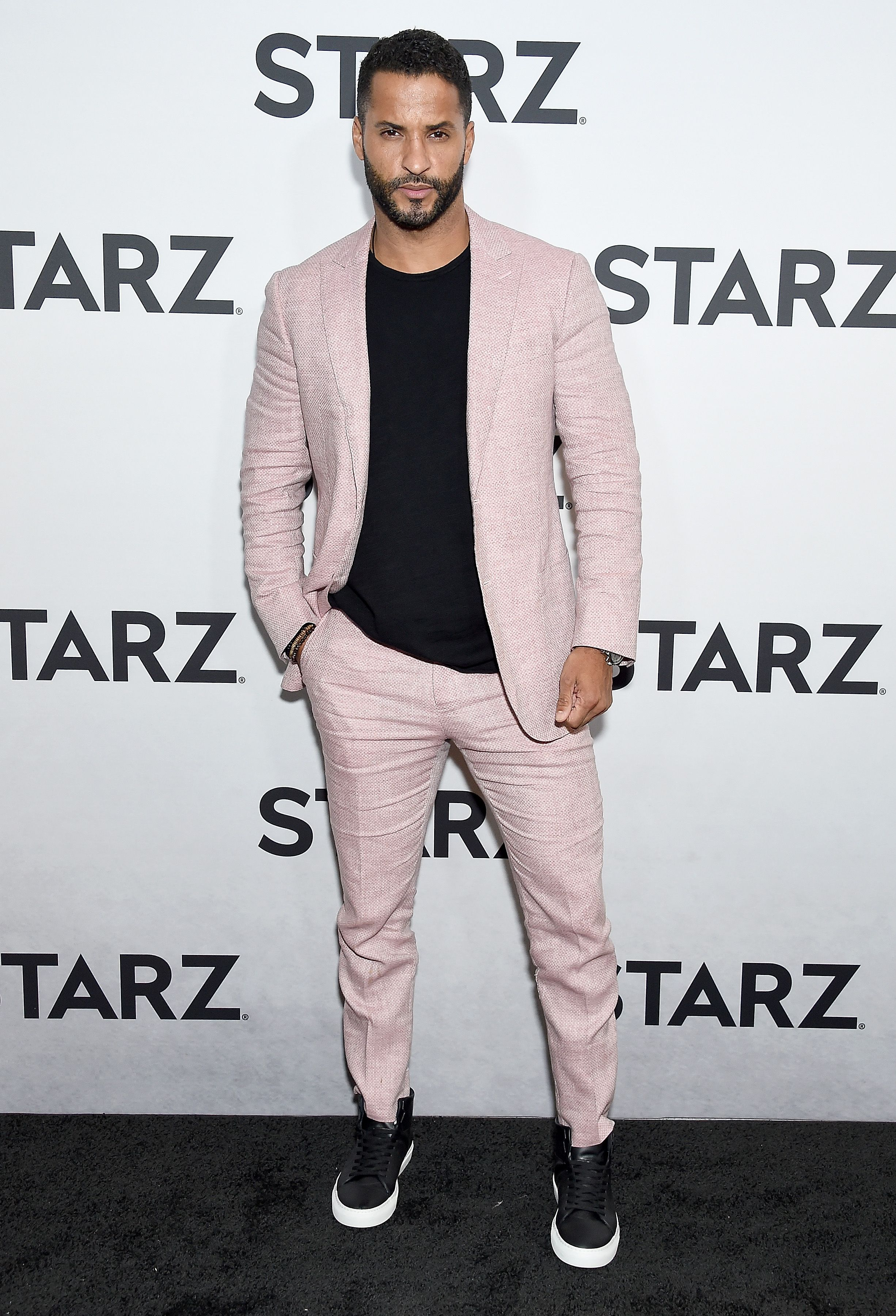 to Wear a Suit With Sneakers