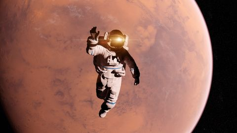 Atmosphere, Space, Astronaut, World, Photography, Illustration, Astronomical object, Planet, Fictional character, Outer space,