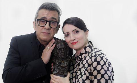 Goya 2019. Andreu Buenafuente y Silvia Abril