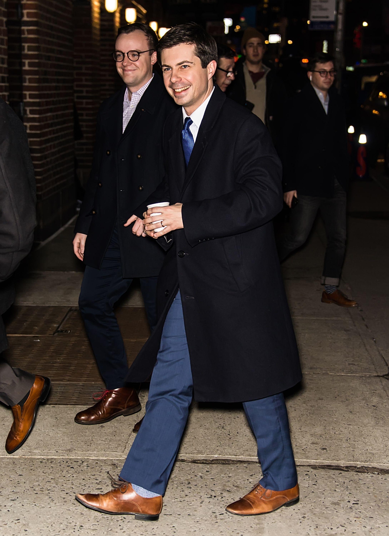 """Chasten Glezman, """"Mayor Pete"""" Buttigieg's Husband, Is Super-Supportive"""