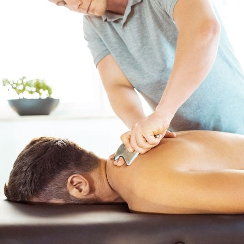 Massage, Spa, Skin, Shoulder, Beauty, Therapy, Chiropractor, Massage table, Leg, Arm,