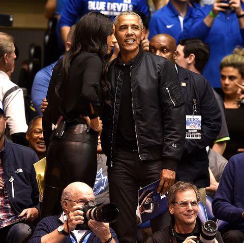 Barack ObamaNorth Carolina v Duke