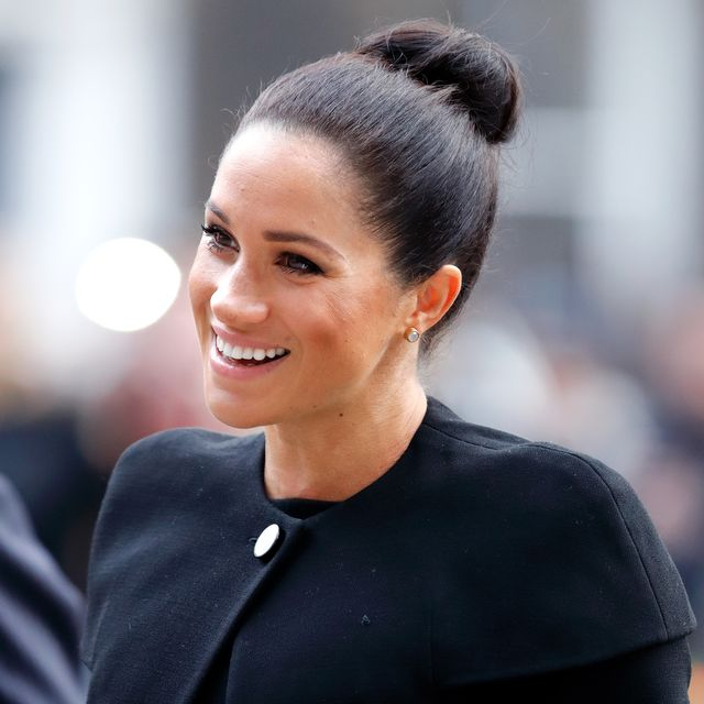 london, united kingdom   january 31 embargoed for publication in uk newspapers until 24 hours after create date and time meghan, duchess of sussex attends an engagement with the association of commonwealth universities acu at city, university of london on january 31, 2019 in london, england the duchess met students from the commonwealth now studying in the uk, for whom access to university has transformed their lives photo by max mumbyindigogetty images