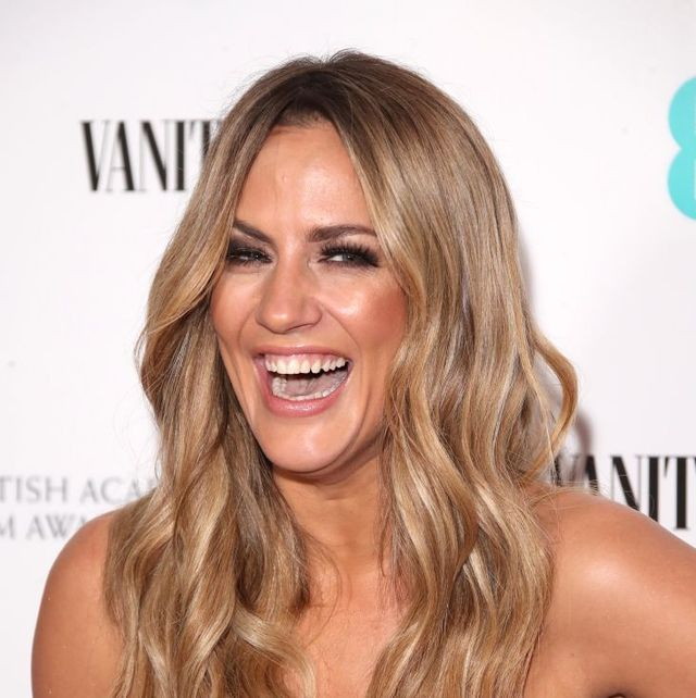 Caroline Flack confirms new romance with kissing pic