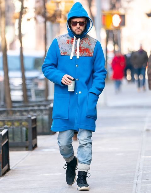 new product c8d9c f9279 Justin Timberlake's Looks Cold, Sad, and Stylish as Hell