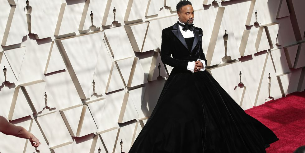 d6a94f7fc459e Billy Porter's Tux-Gown Gave The Oscars 2019 Its First Viral Moment