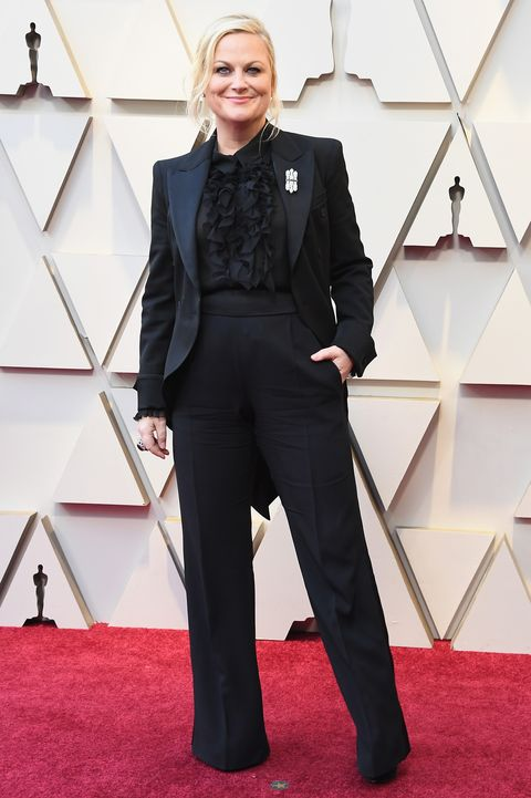 amy poehler oscars 2019 red carpet