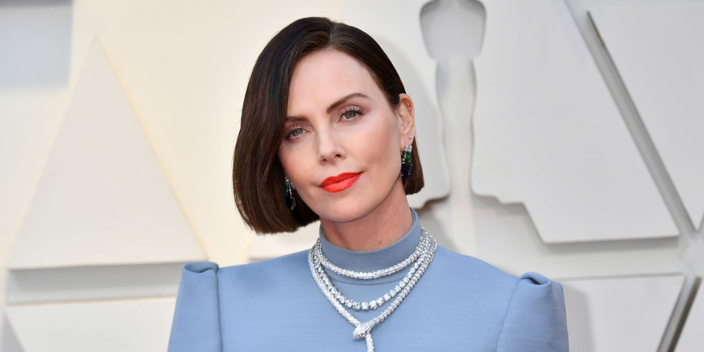 Charlize Theron at the Oscars 2019
