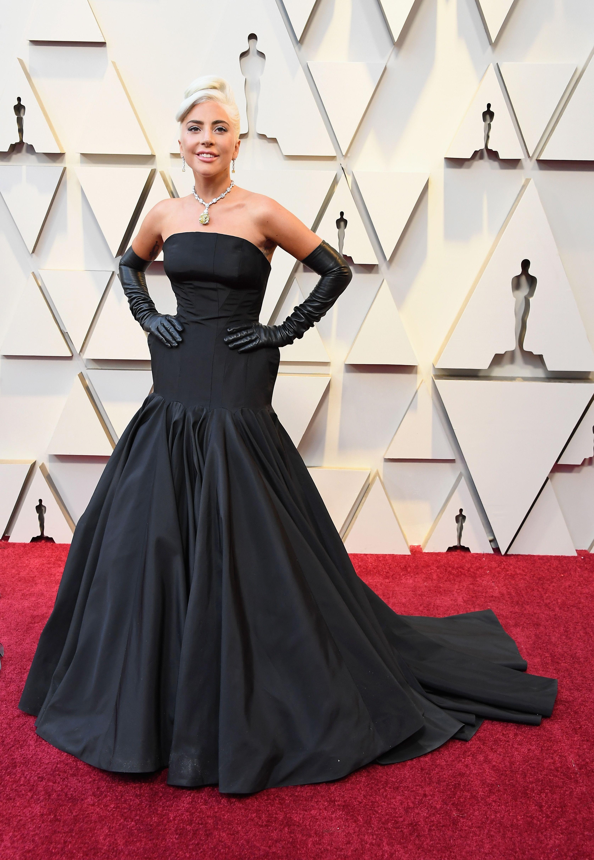 021c3e840 Lady Gaga Wears the Tiffany Diamond to the Oscars - Lady Gaga Oscars Jewelry