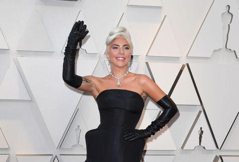 Lady Gaga at the Oscars 2019