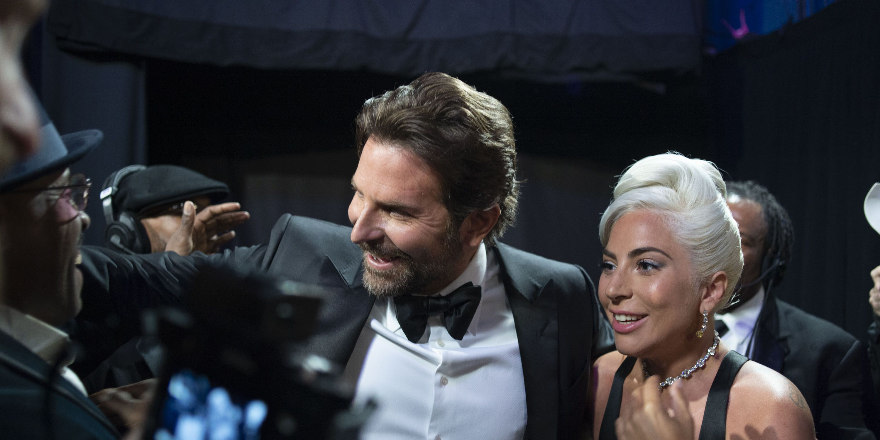 Lady Gaga and Bradley Cooper Shared a Moment Before 'Shallow' Performance