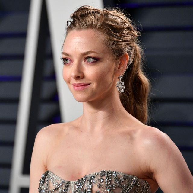 beverly hills, ca   february 24  amanda seyfried attends the 2019 vanity fair oscar party hosted by radhika jones at wallis annenberg center for the performing arts on february 24, 2019 in beverly hills, california  photo by dia dipasupilgetty images