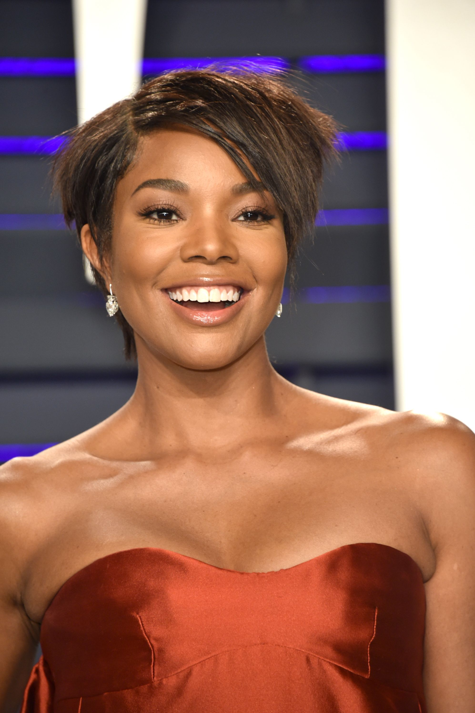 Gabrielle Union's Shaggy Short Cut