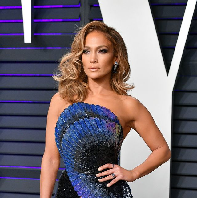 beverly hills, ca   february 24  jennifer lopez attends the 2019 vanity fair oscar party hosted by radhika jones at wallis annenberg center for the performing arts on february 24, 2019 in beverly hills, california  photo by dia dipasupilgetty images