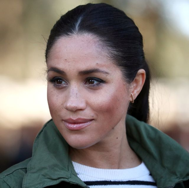 rabat, morocco   february 25  meghan, duchess of sussex visits the moroccan royal federation of equitation sports on february 25, 2019 in rabat, morocco the duke and duchess of sussex are on a three day visit to the country photo by hannah mckay   pool  getty images