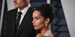 2019 Vanity Fair Oscar Party Zoë Kravitz