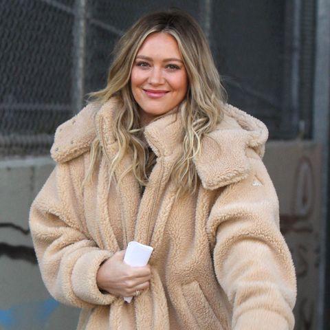 Clothing, Fur, Fur clothing, Street fashion, Outerwear, Coat, Fashion, Jacket, Overcoat, Blond,