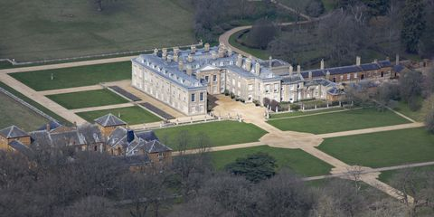 Aerial Photograph of Althorp, Northamptonshire