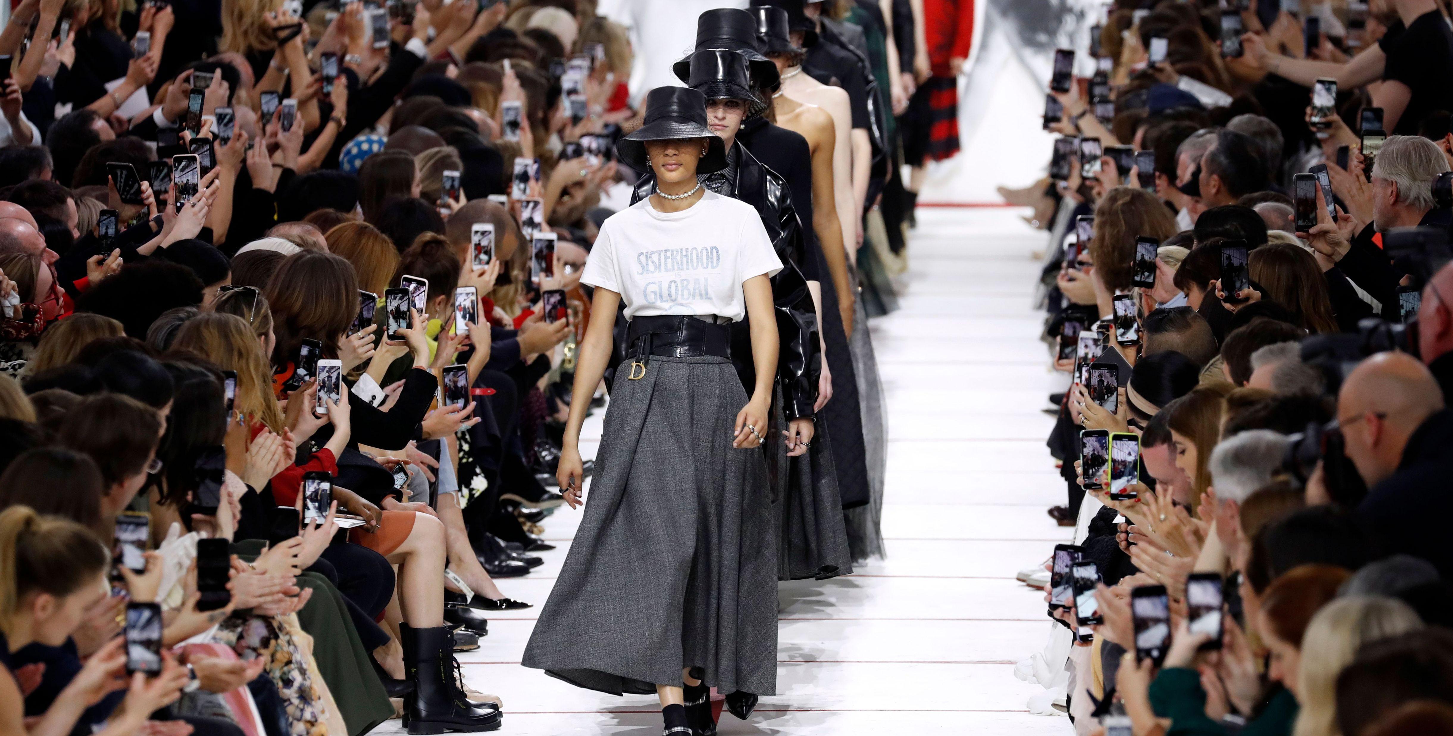 Dior AW19 paris fashion week
