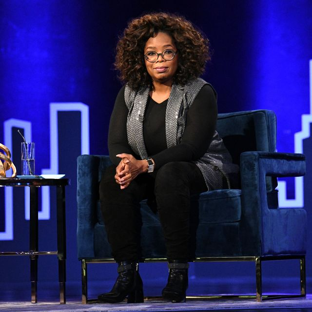 new york, new york   february 05 oprah winfrey speaks onstage during oprahs supersoul conversations at playstation theater on february 05, 2019 in new york city photo by bryan beddergetty images for thr