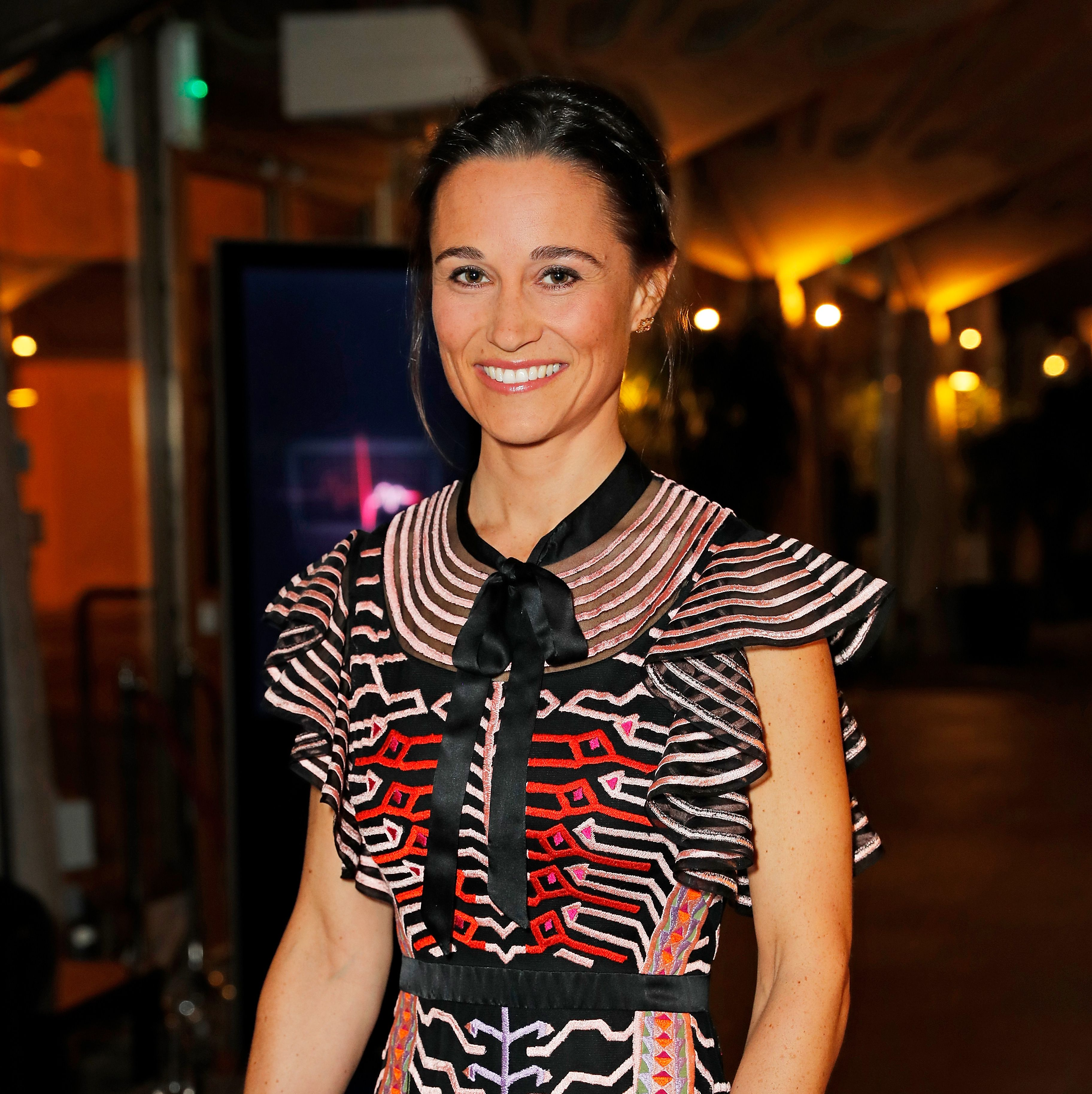 Pippa Middleton just made her first post-baby public appearance