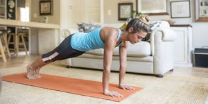 best bodyweight workouts, women's health uk