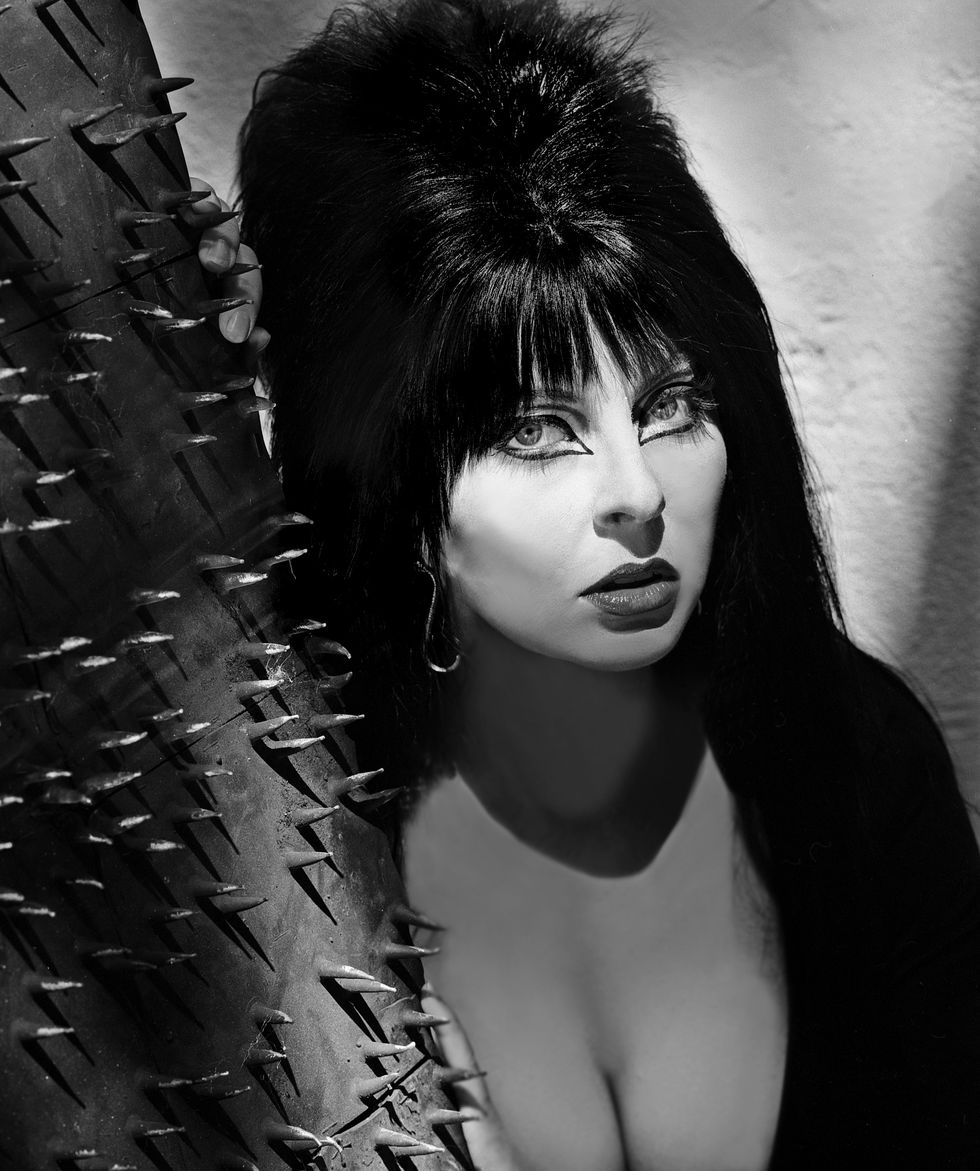 Spooky Beauty Secrets From Elvira, the Original Mistress of the Dark