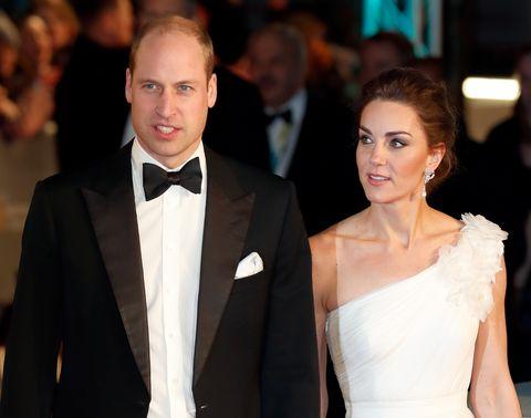 BAFTAs, 凱特王妃, 紅毯, 英國, 英國奧斯卡, 英國皇室, 電影