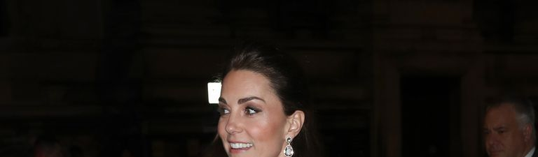 Duchess Of Cambridge Wears gucci gown to V&A