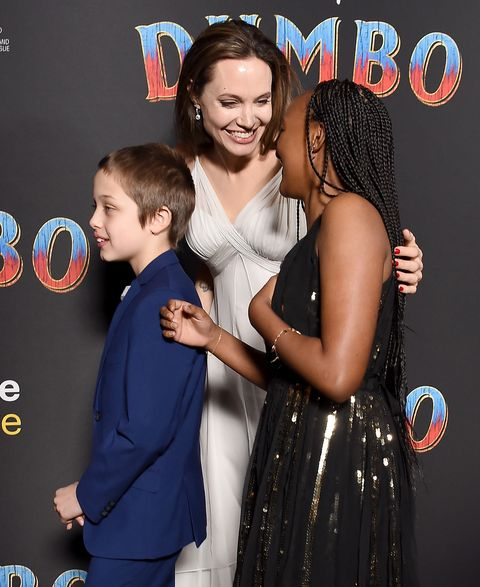 Angelina jolie hijos dumbo