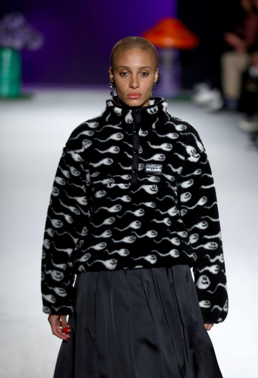 London Fashion Week Opens With a Sperm-Print Fleece