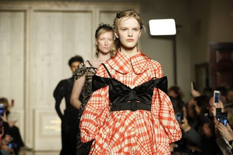 15a6d6ea47b95 Behold, the Return of the '50s Bubble Dress at London Fashion Week