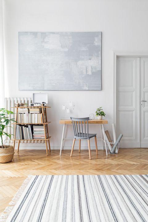 Wood, Floor, Door, Interior design, Flooring, Hardwood, Room, Flowerpot, Wood flooring, Wood stain,
