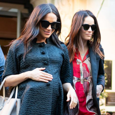 meghan markle abigail spencer baby shower nyc