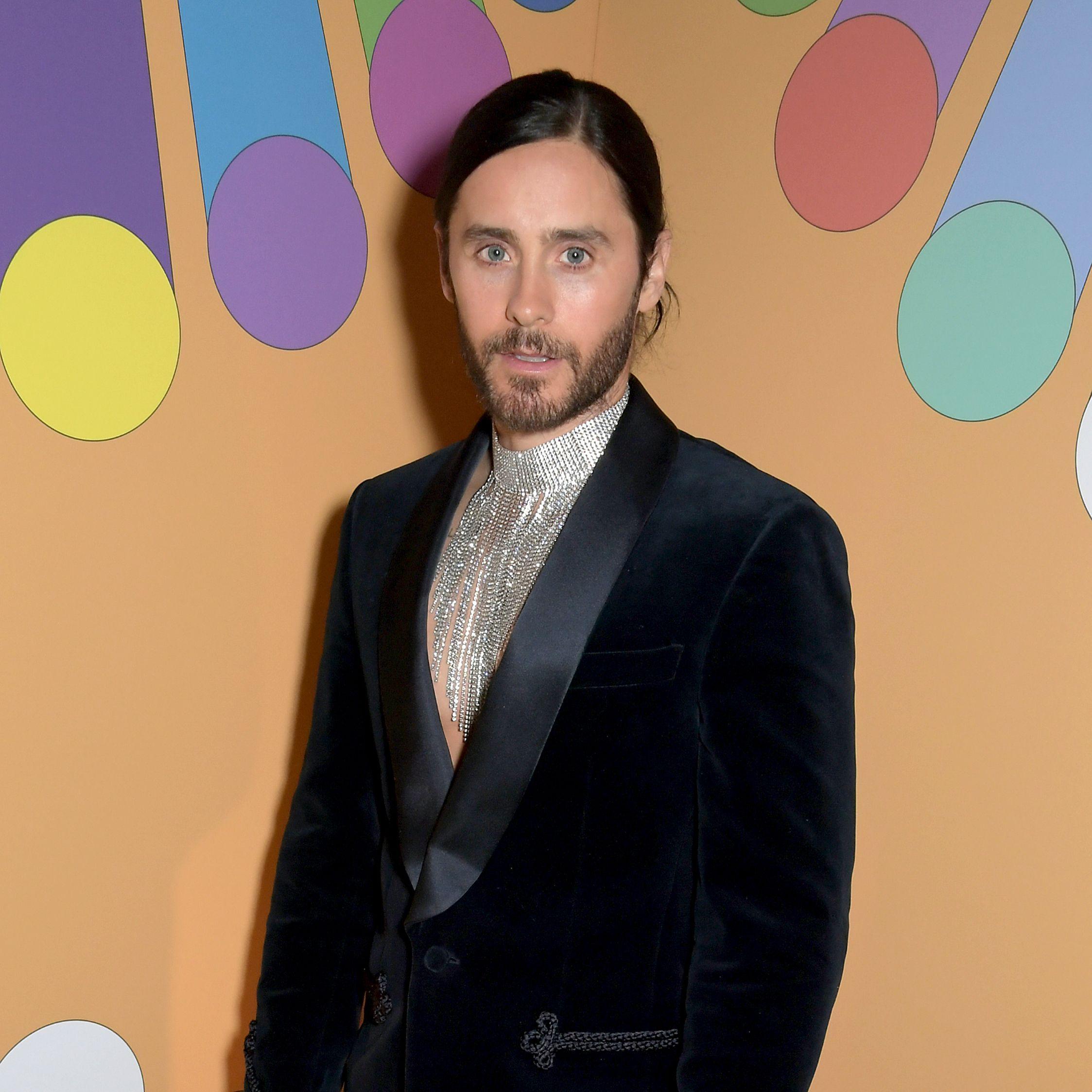 Jared Leto's Brit Awards Aesthetic Was 'Disco Emperor'