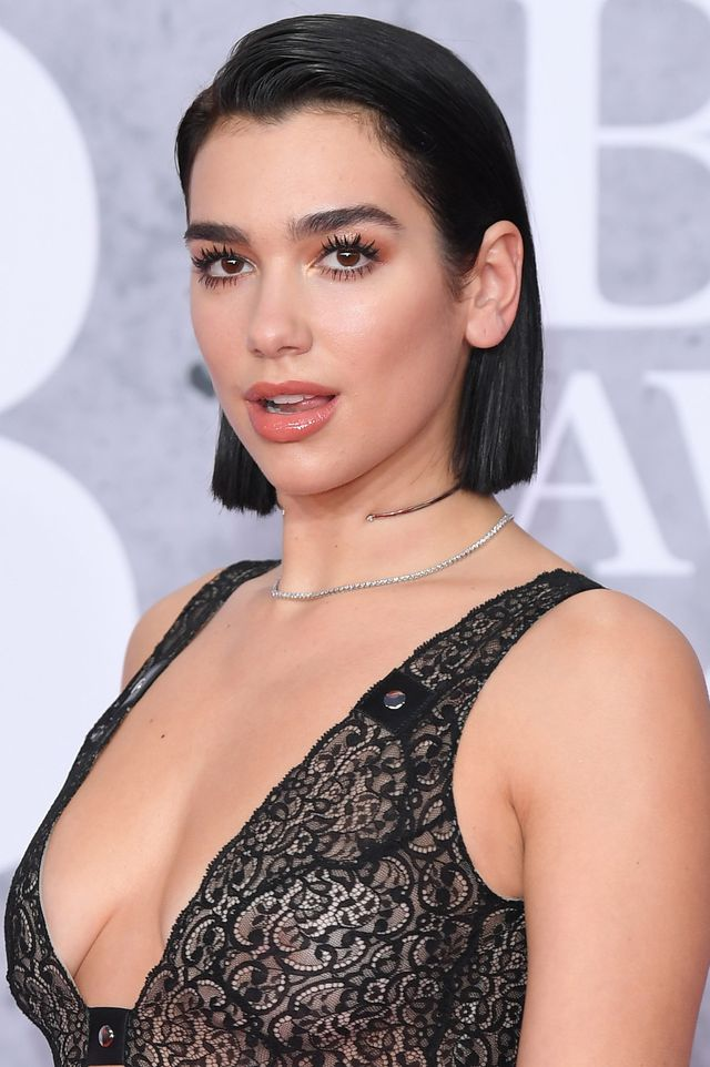 london, england   february 20 editorial use only dua lipa attends the brit awards 2019 held at the o2 arena on february 20, 2019 in london, england photo by karwai tangwireimage