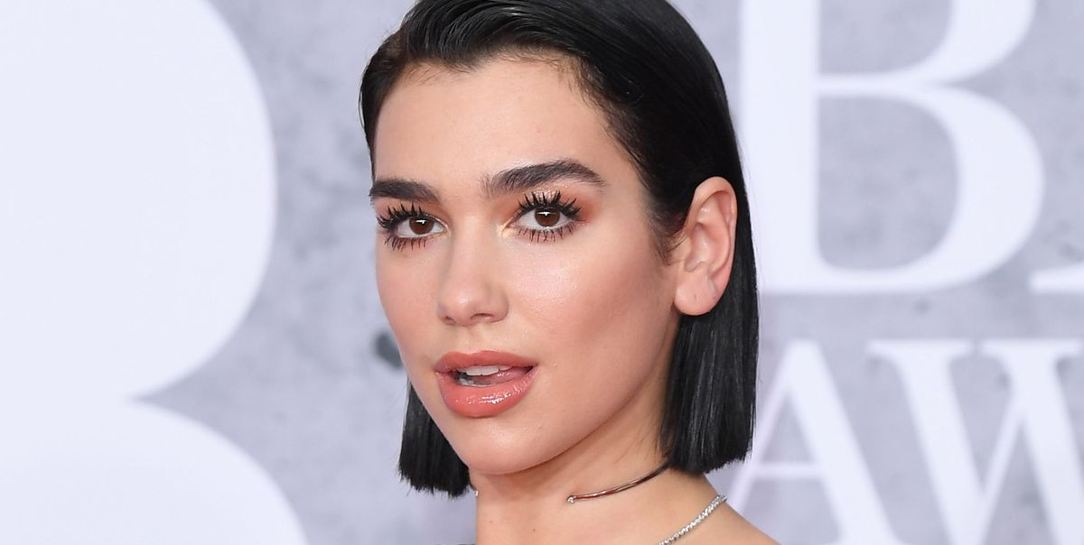 Dua Lipa Wore Low-Rise Jeans to Show Off Her Underwear