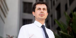 Democratic Presidential Candidate and South Bend Mayor Pete Buttigieg
