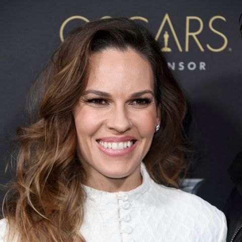 los angeles, california   february 21 hilary swank attends the cadillac celebrates the 91st annual academy awards at chateau marmont on february 21, 2019 in los angeles, california photo by frazer harrisongetty images